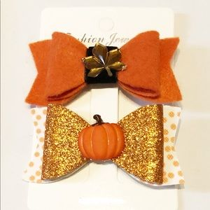 New Listing!  Fall Hair Clips